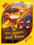 Vier knagers in het Wilde Westen - AVI E4